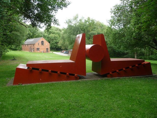 Coalbrookdale Open Air Museum of Steel Sculpture