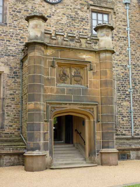 Towneley Hall, Entrance