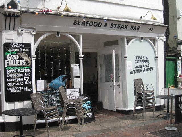 Seafood & Steak Bar, George Street