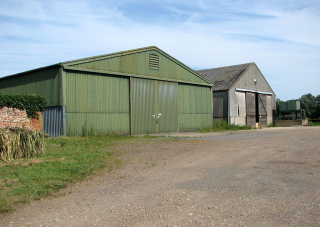 Sheds at Hall Farm, East Rudham