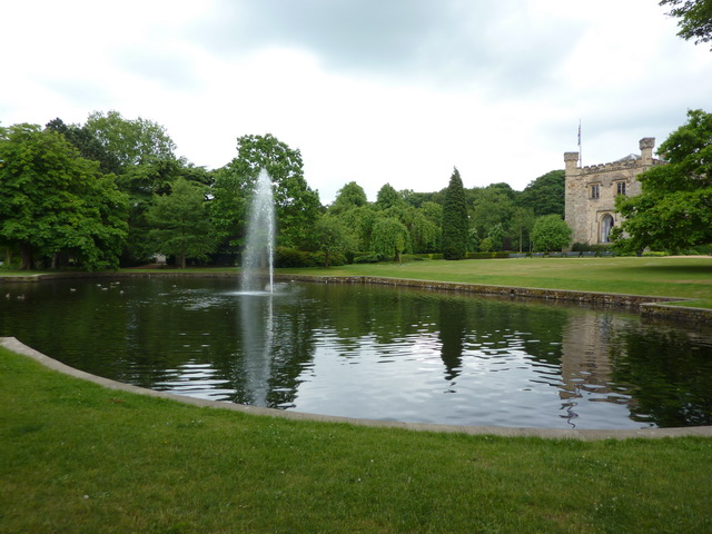 Towneley Hall, Fountain
