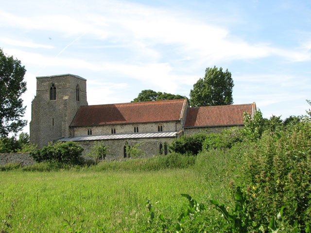 St Peter's church in West Rudham
