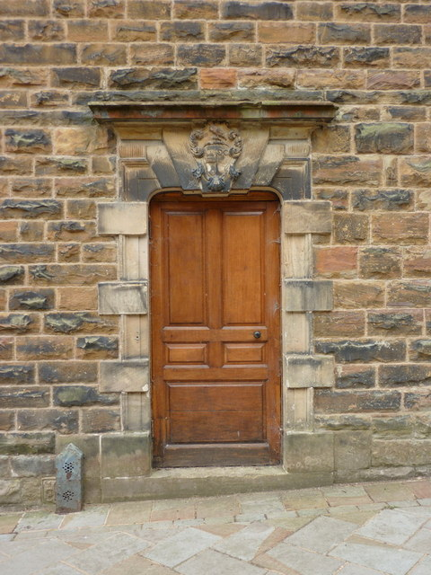 Towneley Hall, Doorway