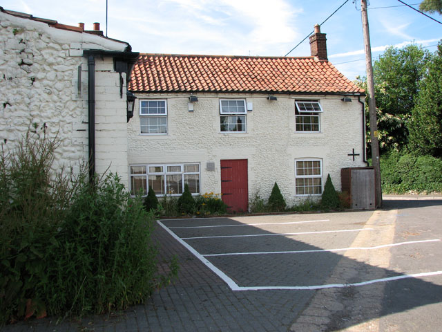 The former Cat and Fiddle public house, East Rudham