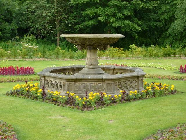 Fountain Bird Bath, Towneley Hall