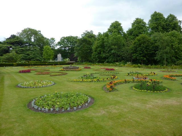 Towneley Hall, Garden