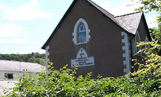 St Pedrog's Church Hall, Ffordd y Llan