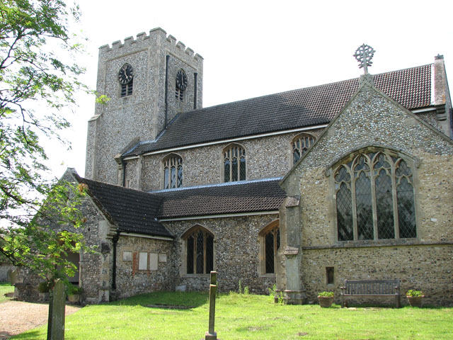 St Mary's church in East Rudham