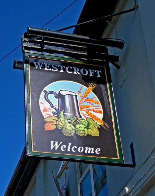 Westcroft (pub sign), 25 Ombersley Road West