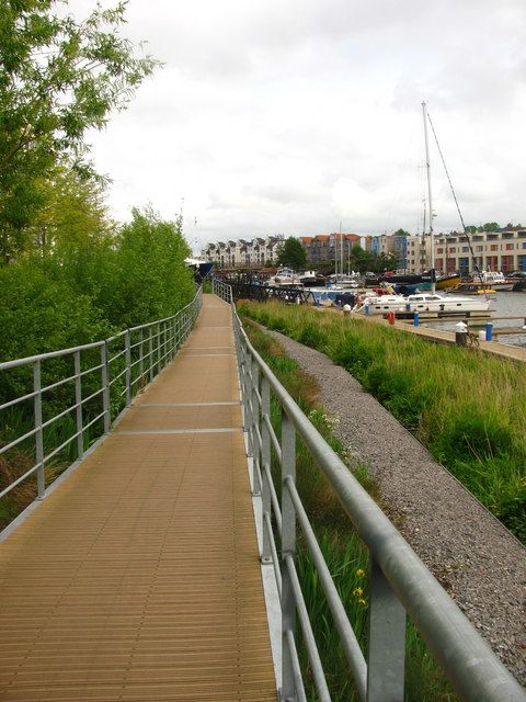Walkway by the Floating Harbour