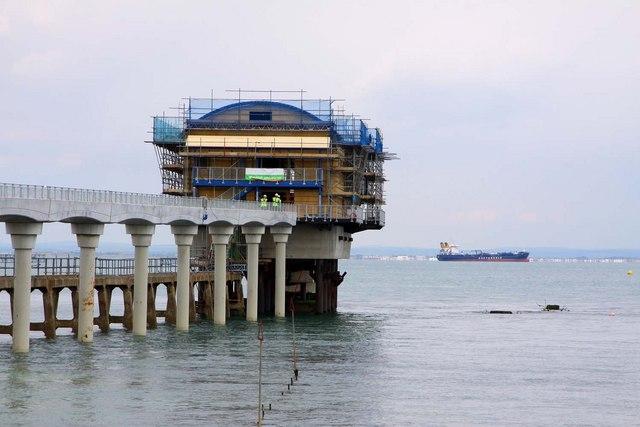 Bembridge Lifeboat Station under renovation