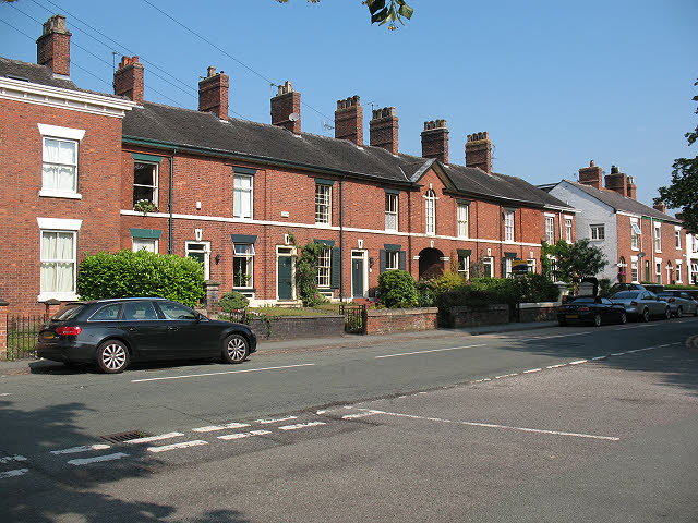Houses on Congleton Road