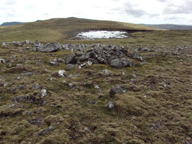 Small lochan on Meall na Creughaich