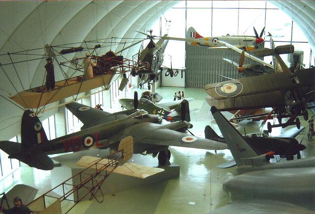 Aircraft at RAF museum, Hendon
