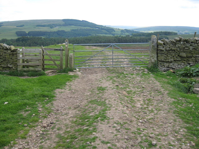 The Pennine Way near Whitlow