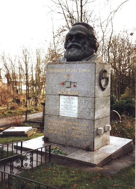 Grave of Karl Marx, Highgate Cemetery