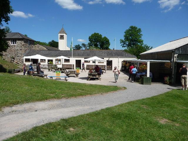 Canonteign Falls : Gift Shop & Picnic Area