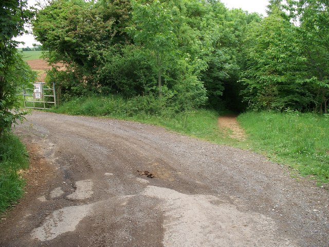 Entrance to Hill Barn Farm