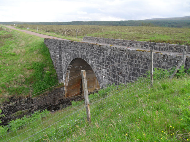 Bridge over Allt Eileag