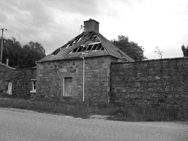 Derelict gate house