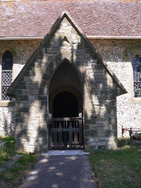 The church porch at Bepton