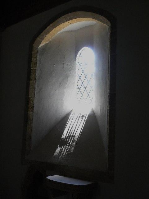 Church window at Bepton