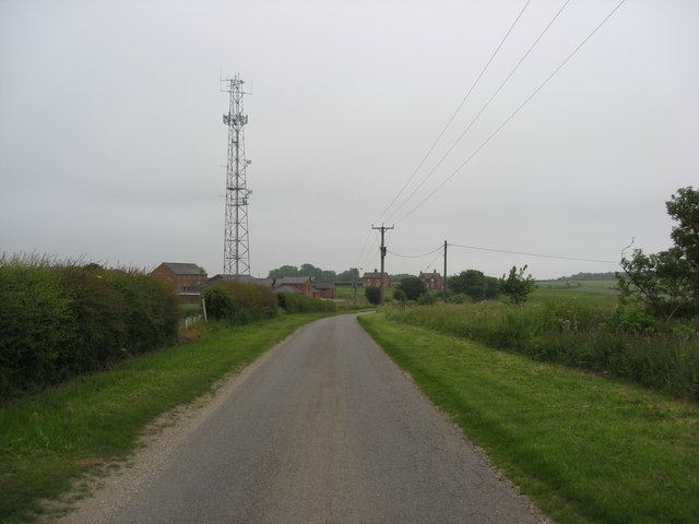 Road to Asgarby