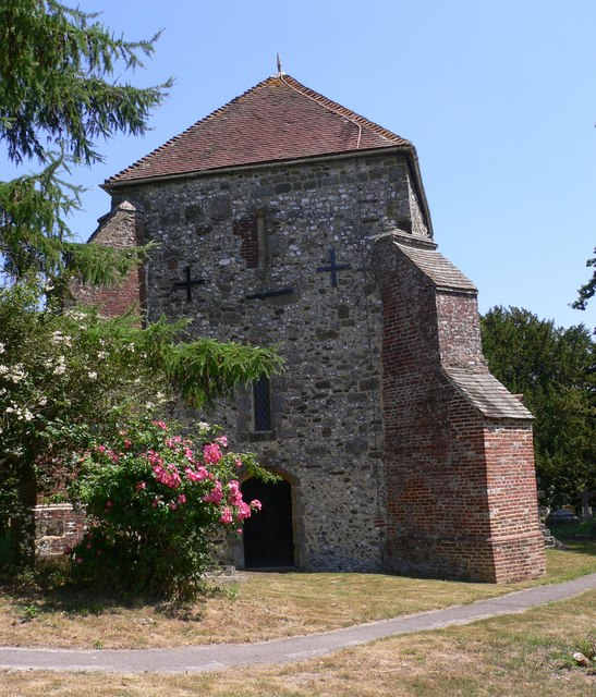 The west end of Bepton church