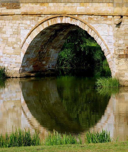 Bridge Arch over the River Derwent at Kirkham Abbey
