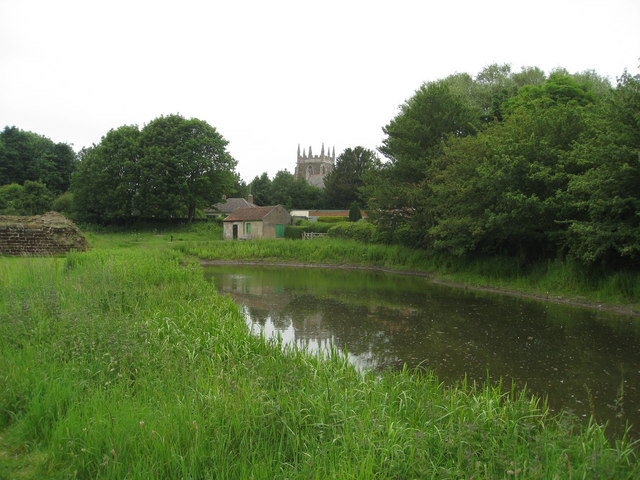 Bolingbroke Castle grounds