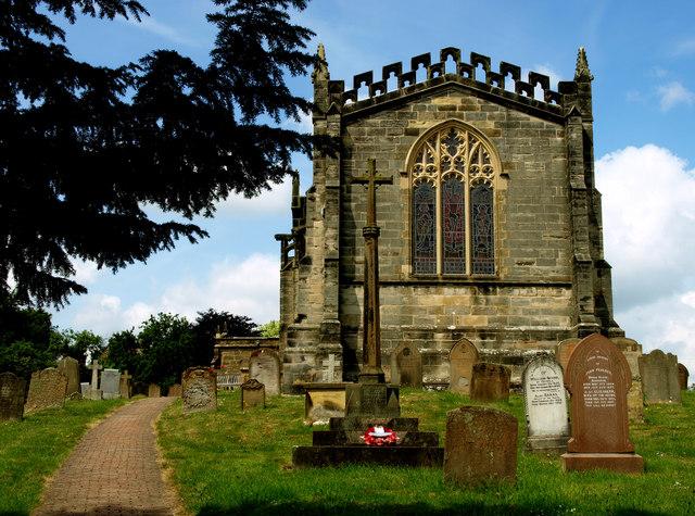 Coxwold Churchyard