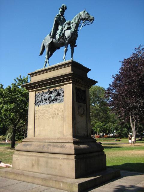 Statue of Viscount Tredegar