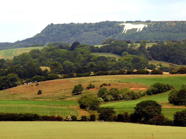 The White Horse of Kilburn from near Coxwold