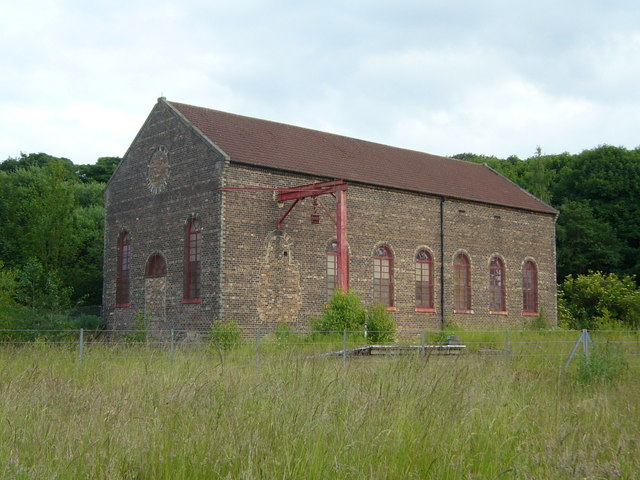 Power House at Prestongrange Mining Museum