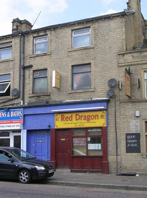 Red Dragon Takeaway - Lockwood Road