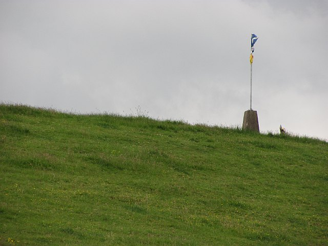 Triangulation pillar, Cowden Hill