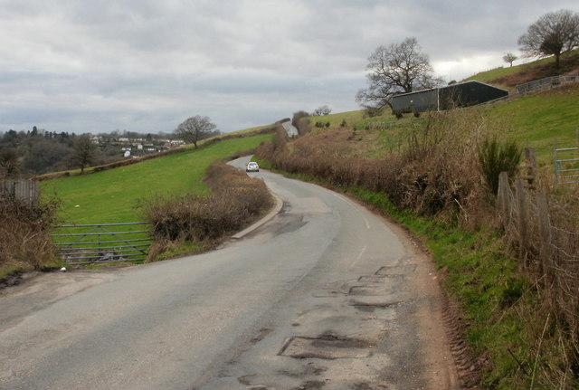 Rural Pillmawr Road