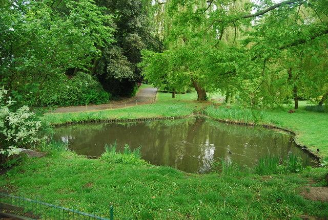 Pond, Sydenham Wells Park