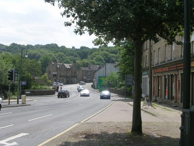 Bridge Street - viewed from Lockwood Road