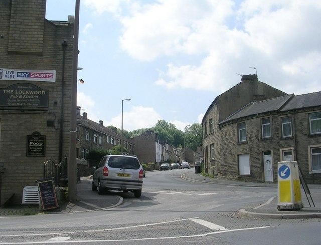 Woodhead Road - viewed from Bridge Street