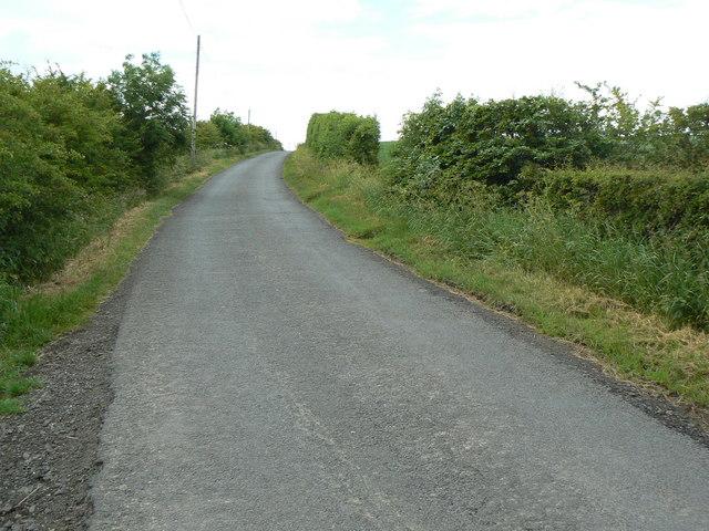 Minor road near Wheatrig