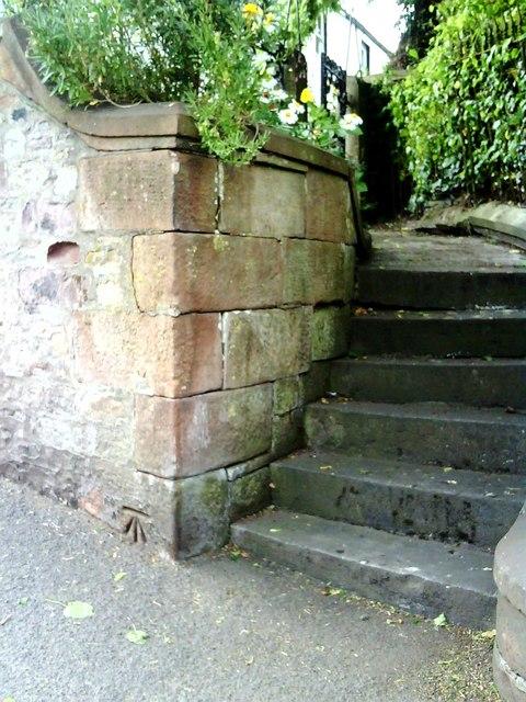 Benchmark on Bongate House