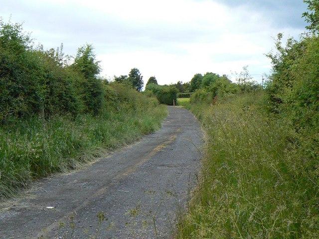 Lane to Crofthead farm
