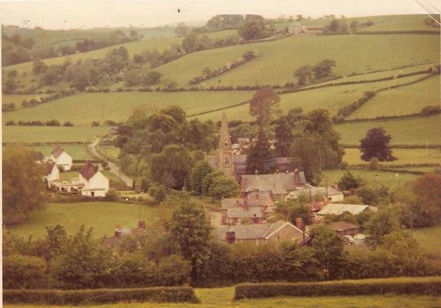 Llandyssil, Montgomery 1971