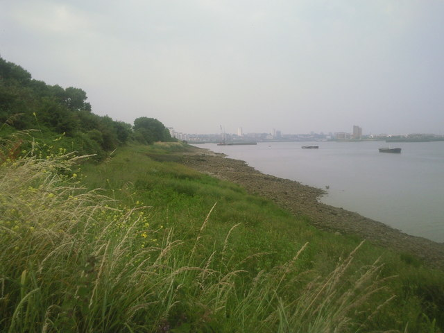 River Thames from Tripcock Ness