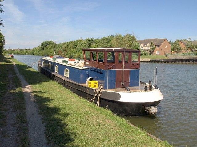 Narrowboat, Gloucester & Sharpness Canal