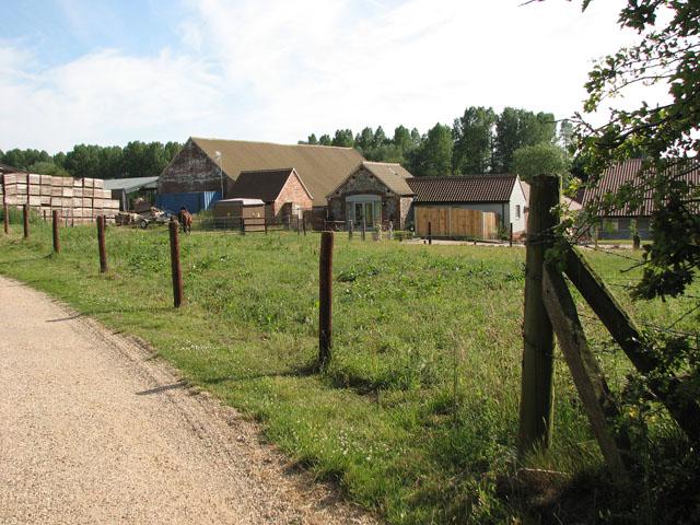Barn conversions at Manor Farm, Tattersett