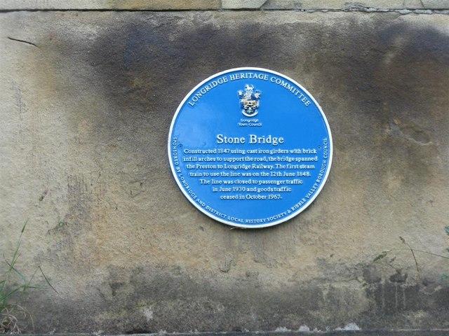 Stone Bridge information plaque