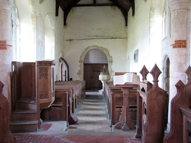 All Saints' church in Tattersett - view west