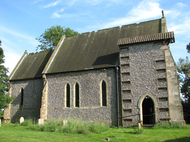 St Margaret's church in Tatterford